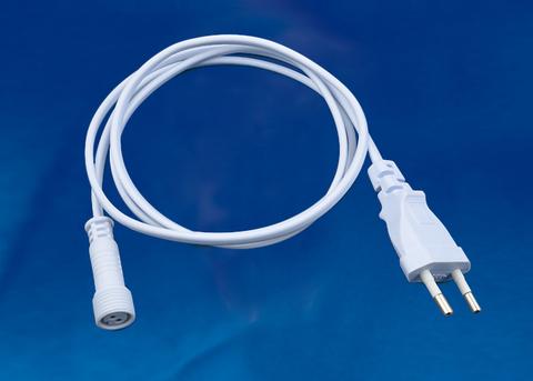 UCX-PT2/Y90-120 WHITE 1 STICKER Провод для подключения светильника ULY-P9* к сети 220В. 120 см. Белый. ТМ Uniel.