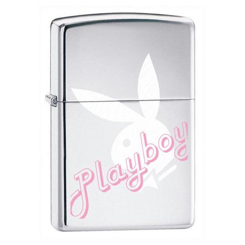 Зажигалка Zippo Playboy High Polish Chrome
