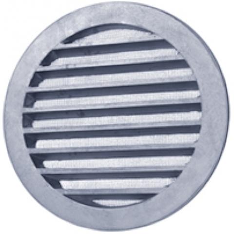 Алюминиевая наружная решетка Polar Bear CG 100 для круглых каналов