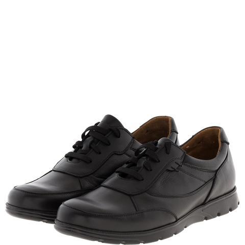 587385 полуботинки мужские черный кожа. КупиРазмер — обувь больших размеров марки Делфино