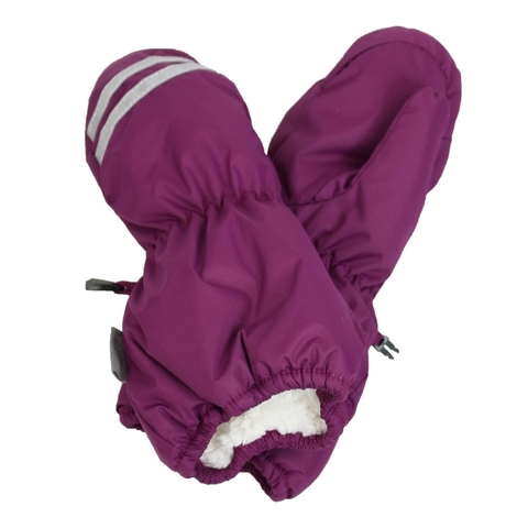 HUPPA ROY зимние детские варежки бордовые