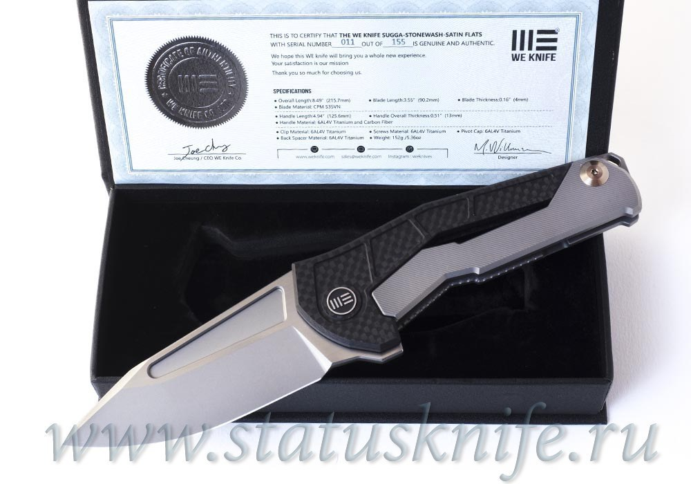 Нож We Knife Sugga 915A - фотография