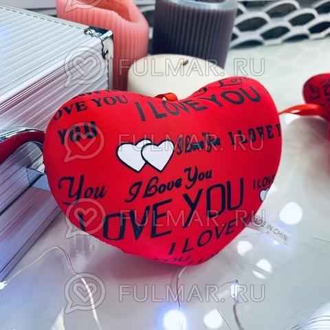 Сердце Валентинка антистресс игрушка