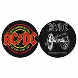 Слипмат Для Проигрывателя Виниловых Пластинок (AC/DC - For Those About To Rock + High Voltage)