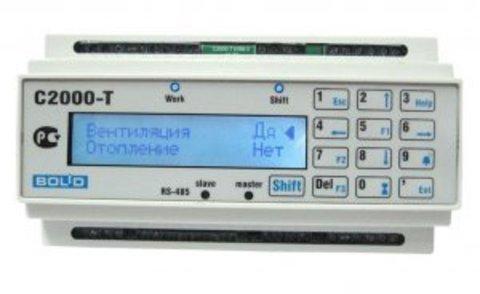 Контроллер технологический c ЖКИ С2000-Т исп. 01