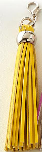 Шармик-кисточка для планнера TASSEL CHARMS  Websters Pages. Цвет- Yellow ЖЕЛТЫЙ