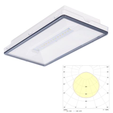 Vella LED eco IP65 - аварийный светильник