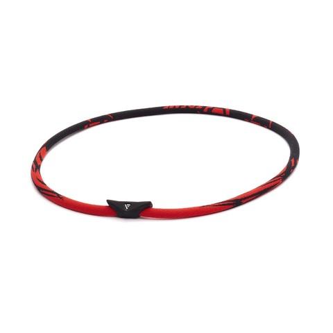 Ожерелье PHITEN EXTREME GENERAL (черно-красный)