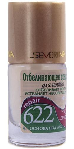 Укрепление и восстановление Severina Expert, №622, Отбеливающее средство для ногтей, 11,5 мл otbelivayushee-sredstvo-dlya-nogtej-622.jpg