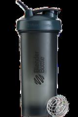 BlenderBottle Pro45,1330 мл Большой Шейкер с Шариком-Пружиной  1330 мл серый-черный