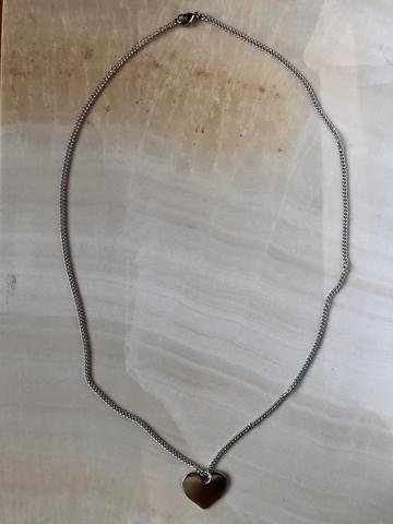 Колье Андронита, серебряный цвет
