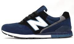 Кроссовки Мужские New Balance 996 Blue Black White