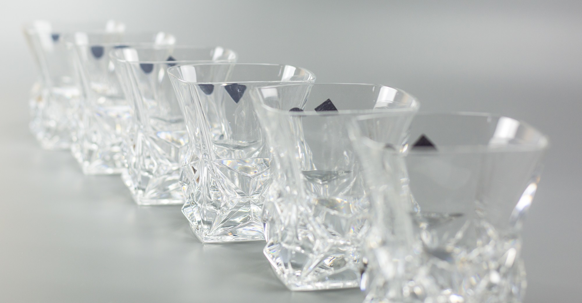 Набор стаканов для виски «Pyramid», 6 шт набор стаканов для виски 6 шт bohemia набор стаканов для виски 6 шт