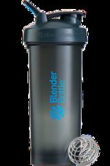 BlenderBottle Pro45,1330 мл Большой Шейкер с Шариком-Пружиной  1330 мл серый-синий