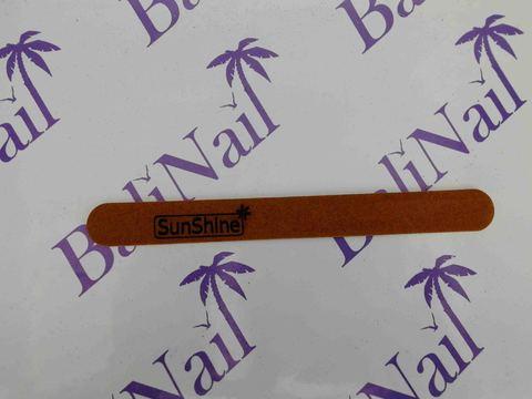 Пилка тонкая SunShine (100/180) коричневая, прямая