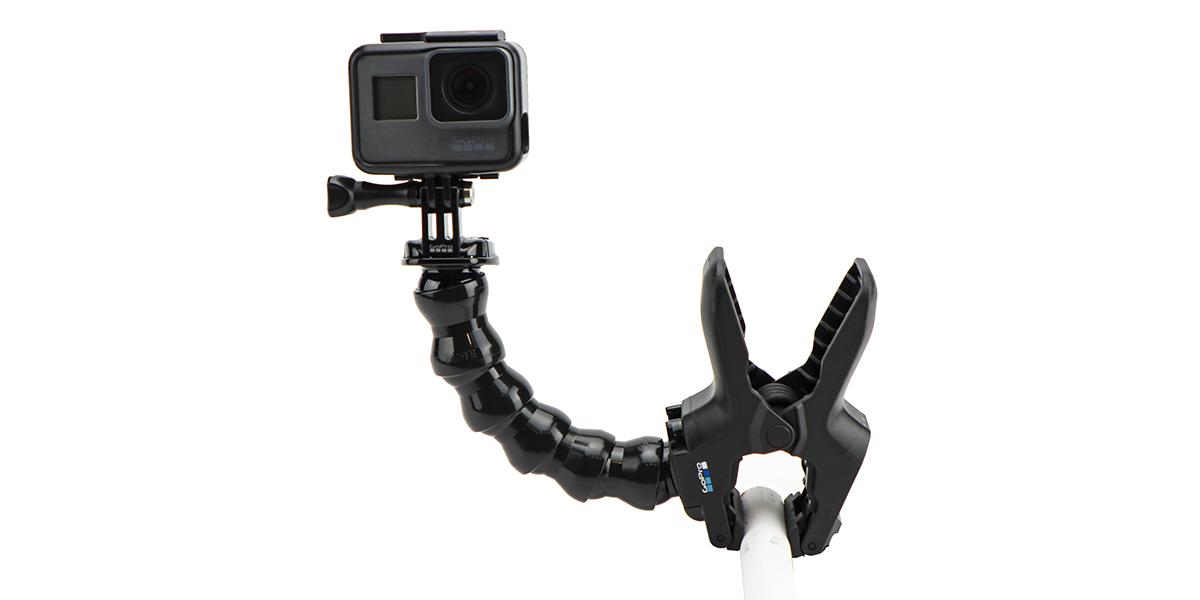 Прищепка GoPro Jaws: Flex Clamp (ACMPM-001) пример крепления №1