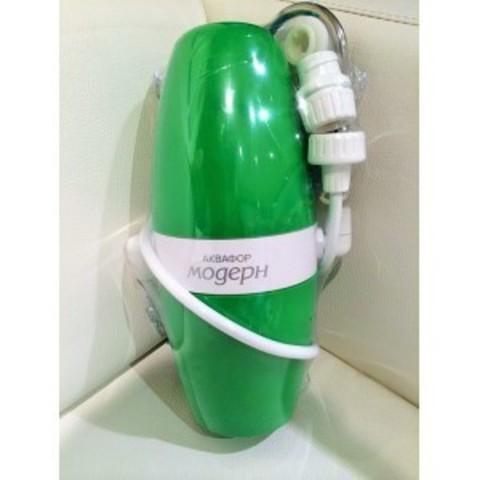 Водоочиститель многоступенчатый Аквафор Модерн (исполнение 4), зеленый арт.И5344