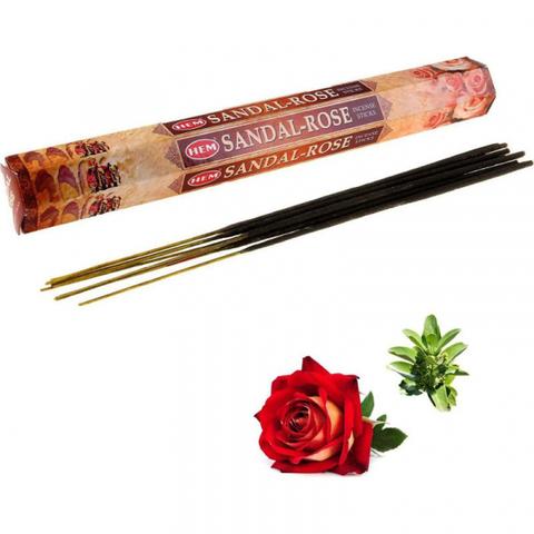 Индийские палочки  HEM Sandal-Rose