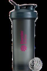 BlenderBottle Pro45,1330 мл Большой Шейкер с Шариком-Пружиной  1330 мл серый-малиновый