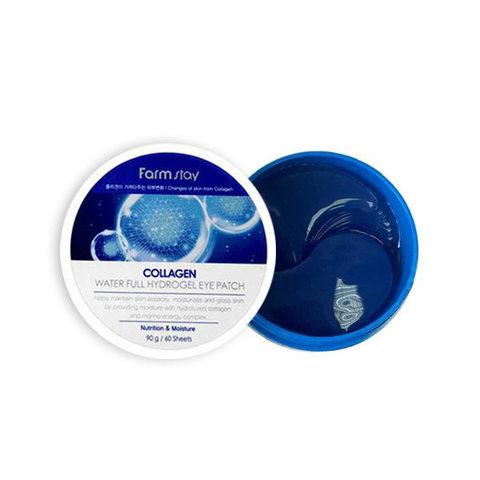 Farmstay Collagen Water Full Hydrogel Eye Patch Патчи для глаз с коллагеном, 60шт