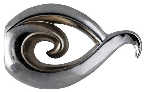 Бутон хром наконечники на карниз кованый d 16