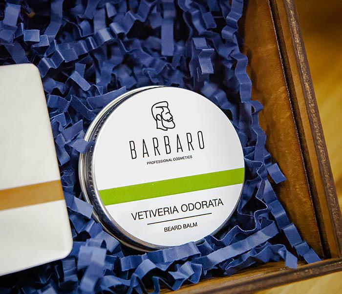 Набор для ухода за бородой с мылом и бальзамом Barbaro «Vetiveria Odorata» фото 03