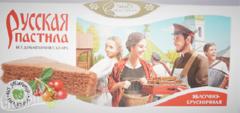 Картинка Пастила русская Яблочно-брусничная