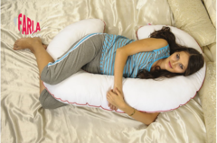 Farla. Подушка для беременных с холлофайбером Care C, вид 2
