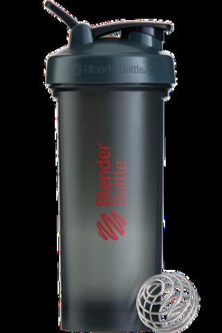 BlenderBottle Pro45,1330 мл Большой Шейкер с Шариком-Пружиной  1330 мл серый-красный