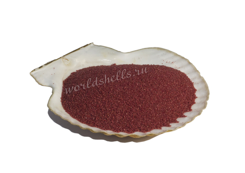 Бордовый цветной песок 300 гр.