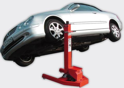 Подъёмник одностоечный для автосервиса