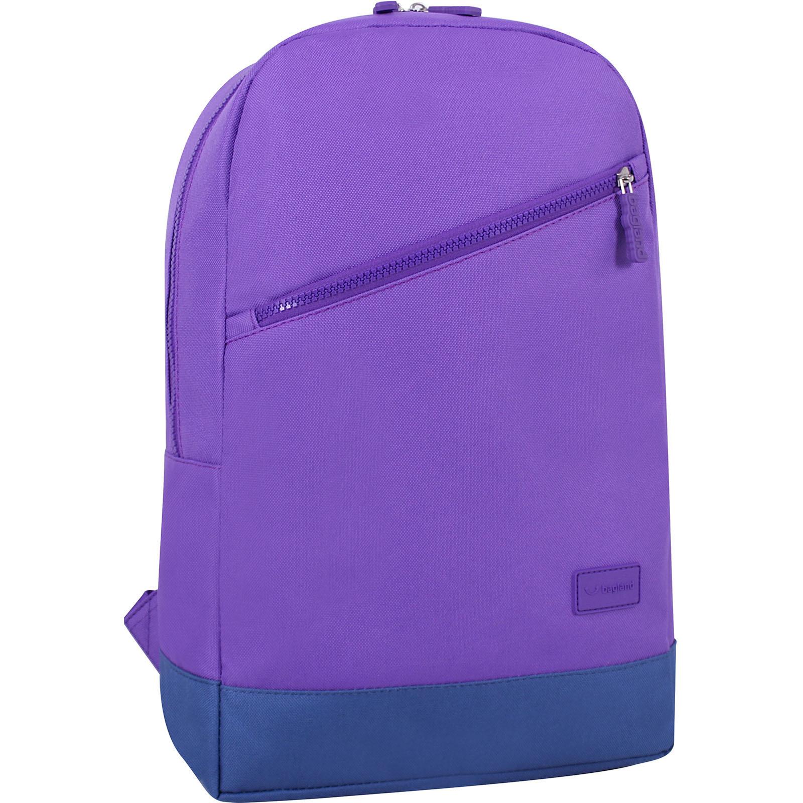 Городские рюкзаки Рюкзак Bagland Amber 15 л. фиолетовый/синий (0010466) IMG_6784.JPG