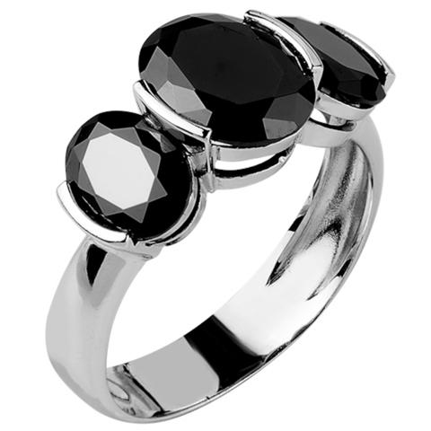 Кольцо из серебра с нано шпинелью Арт.1110н-шп