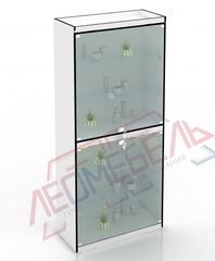 В-306-Д Витрина стеклянная задняя стенка ДВПО