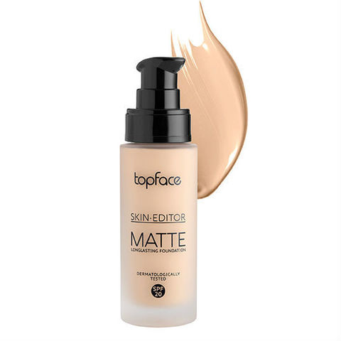 Тональная основа Skin Editor Matte, TopFace РТ 465 -05