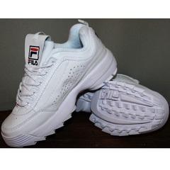 Кроссовки повседневные женские Fila Disruptor 2 all white RN-91175