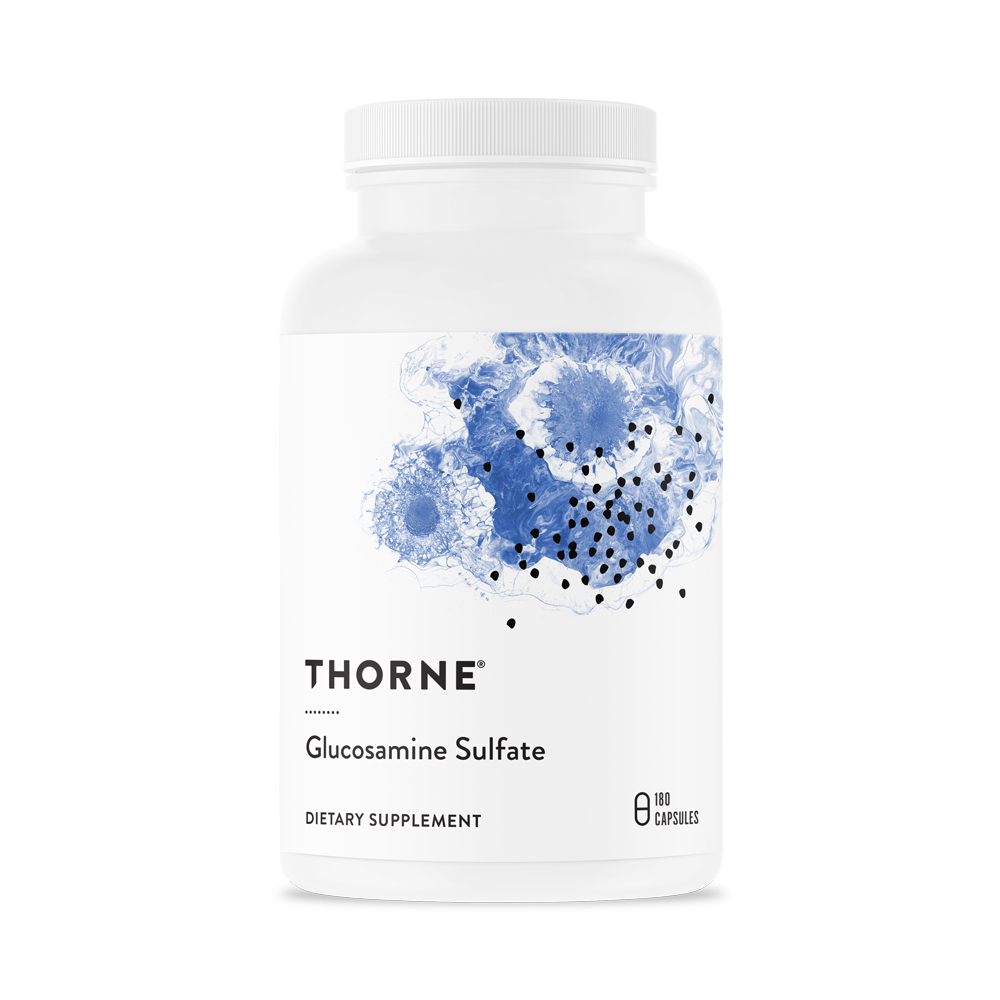 Thorne, Glucosamine Sulfate, 180 капсул