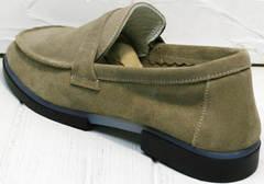 Закрытые туфли без каблука женские Osso 2668 Beige.