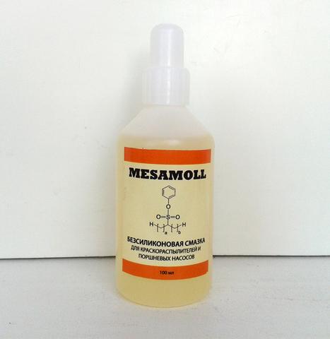Масло для смазки краскопульта MESAMOLL