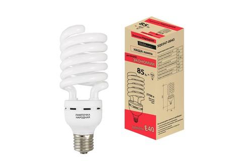 Лампа люминесцентная НЛ-HS-85 Вт-2700 К–Е40