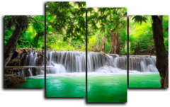 "Модульная картина ""Природа Таиланда"""