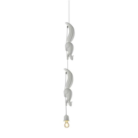 Подвесной светильник копия SHERWOOD & ROBIN by Karman (белый, 2 белки)