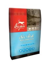 Гипоаллергенный корм для взрослых собак всех пород, Orijen Six Fish