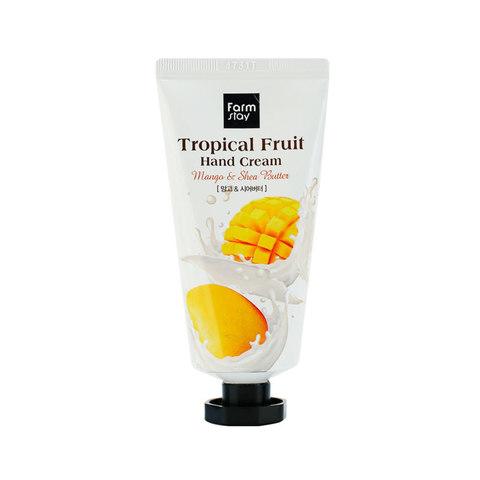 Крем для рук FarmStay Tropical Fruit Hand Cream, манго и масло ши