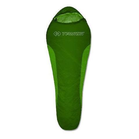 Летний спальный мешок Trimm Cyklo, 195 R (зеленый, синий)