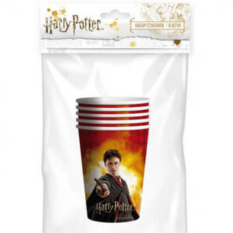 Стаканы Гарри Поттер 250мл 6 шт