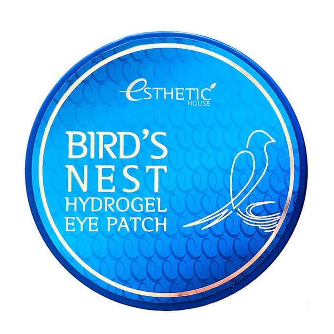 Гидрогелевые патчи с экстрактом ласточкиного гнезда ESTHETIC HOUSE Birds Nest Hydrogel eye patch