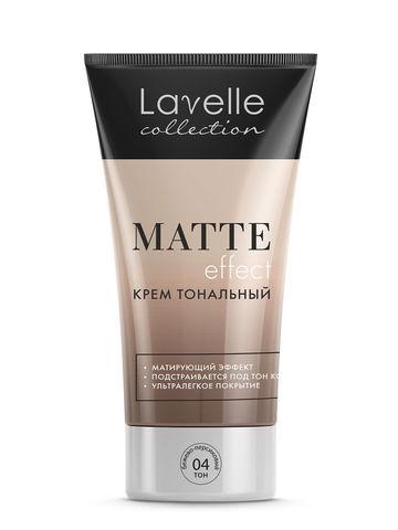 LavelleCollection Крем тональный Matte Effect тон 4 бежево-персиковый FTM-04