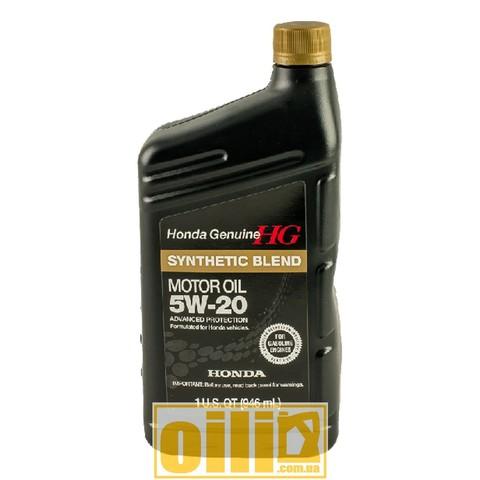 HONDA SYNTHETIC BLEND 5W-20 0,946л (1qt)