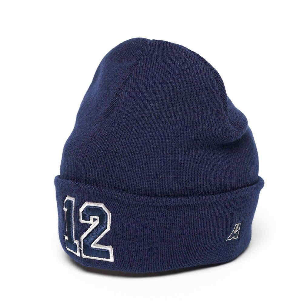 Шапка №12 синяя